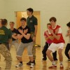 Royal Marines put students to the test!