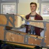 Student Engineer creates the wind of change