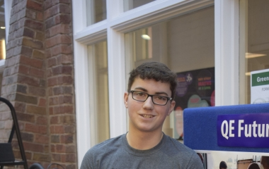 QE Student Engineers a Bright Future