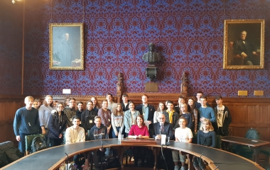 Touring Parliament