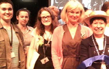 Students join in centenary celebration  for votes for women