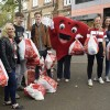 Interact students bag up donations for British Heart Foundation