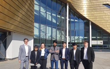 Student business advances to regional finals