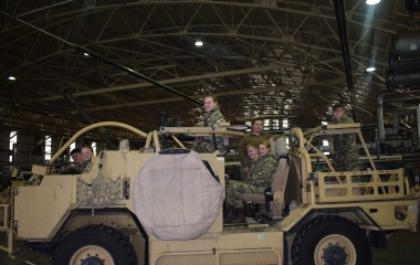 College Cadets sample new training weekend
