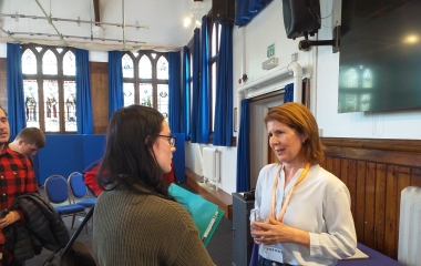 Jenny Chapman provides students  with Brexit breakdown