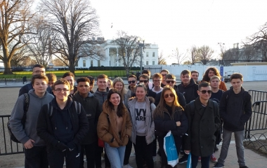 Politics Students Mix with US Politicians in Washington D.C.