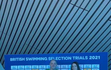 QE student thrills at Olympic  swimming trials