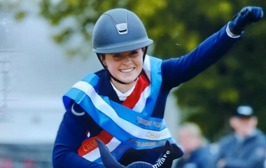 QE student jumps to victory in show jumping finals
