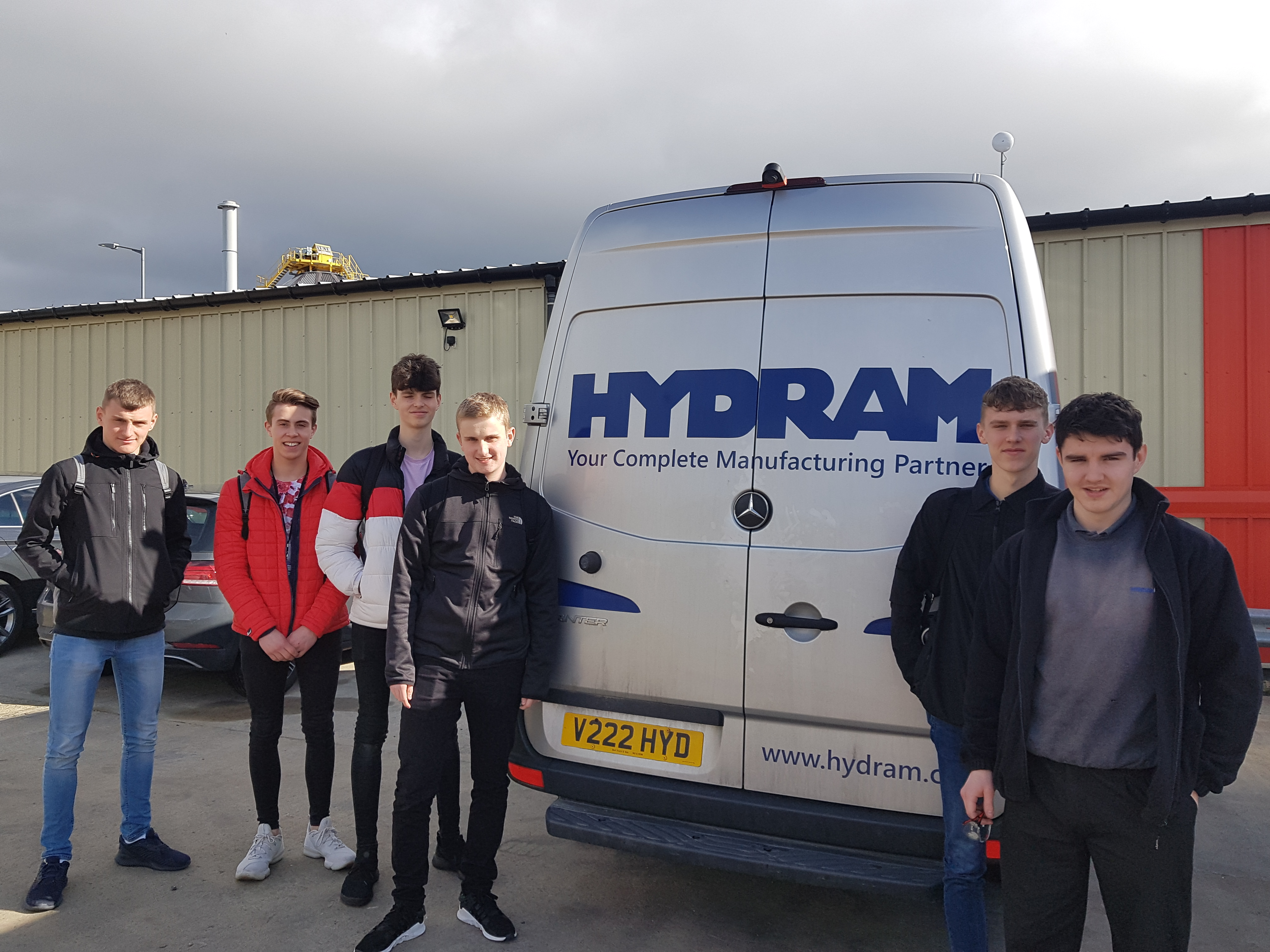 Future engineers given tour of Hydram by former QE student