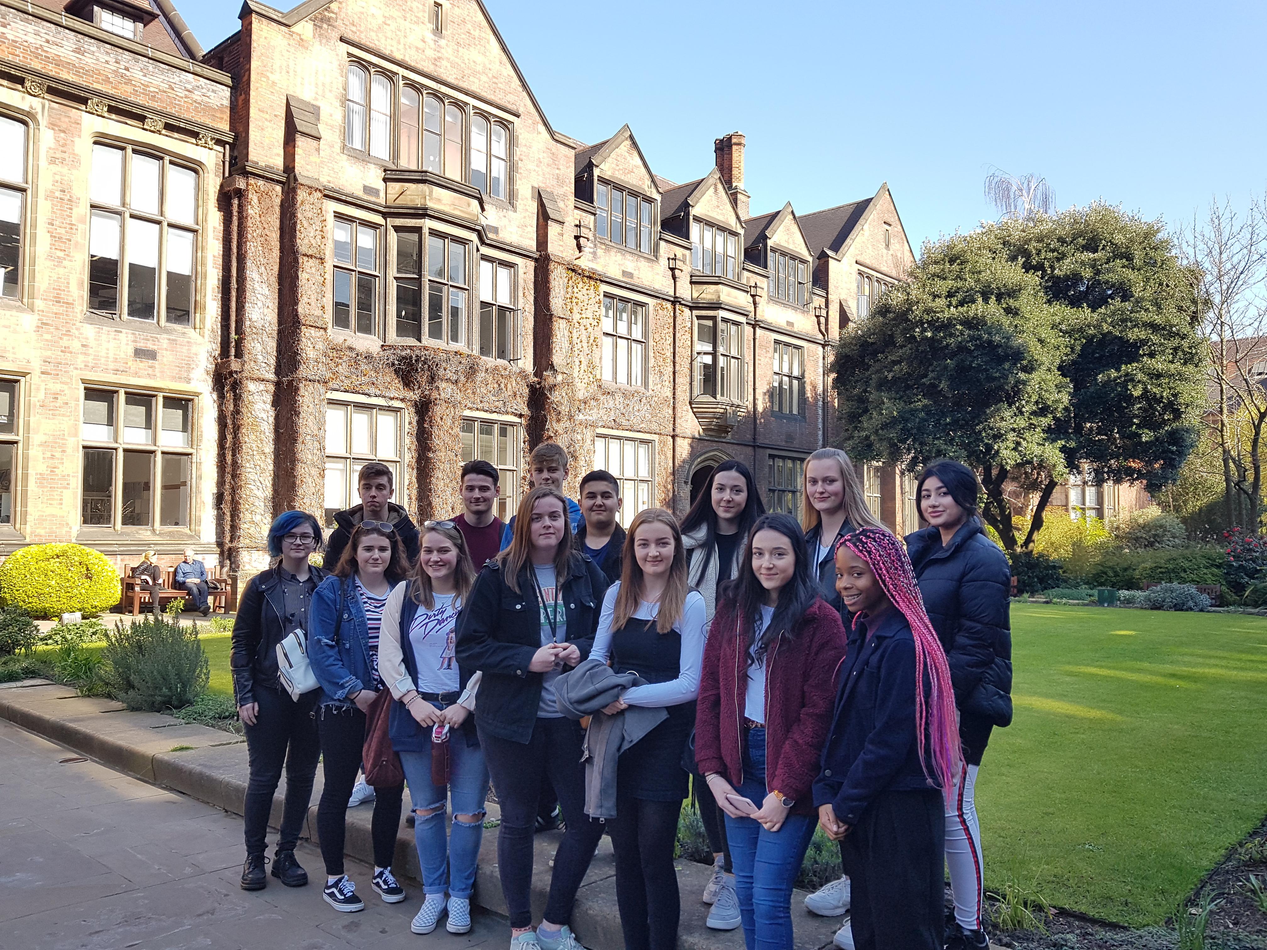 Medical Society visit to Newcastle University