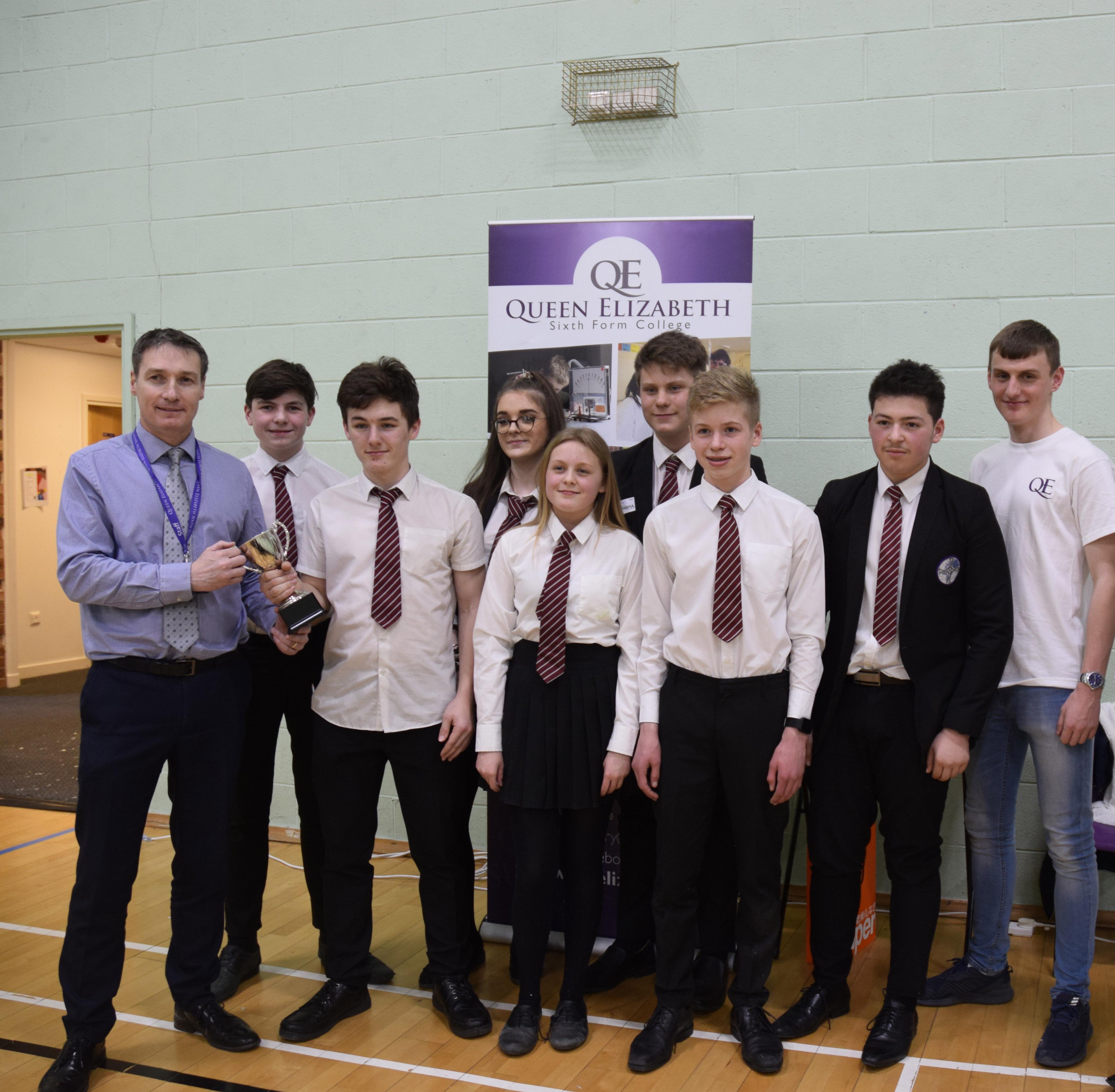 School hovercraft teams have lift off