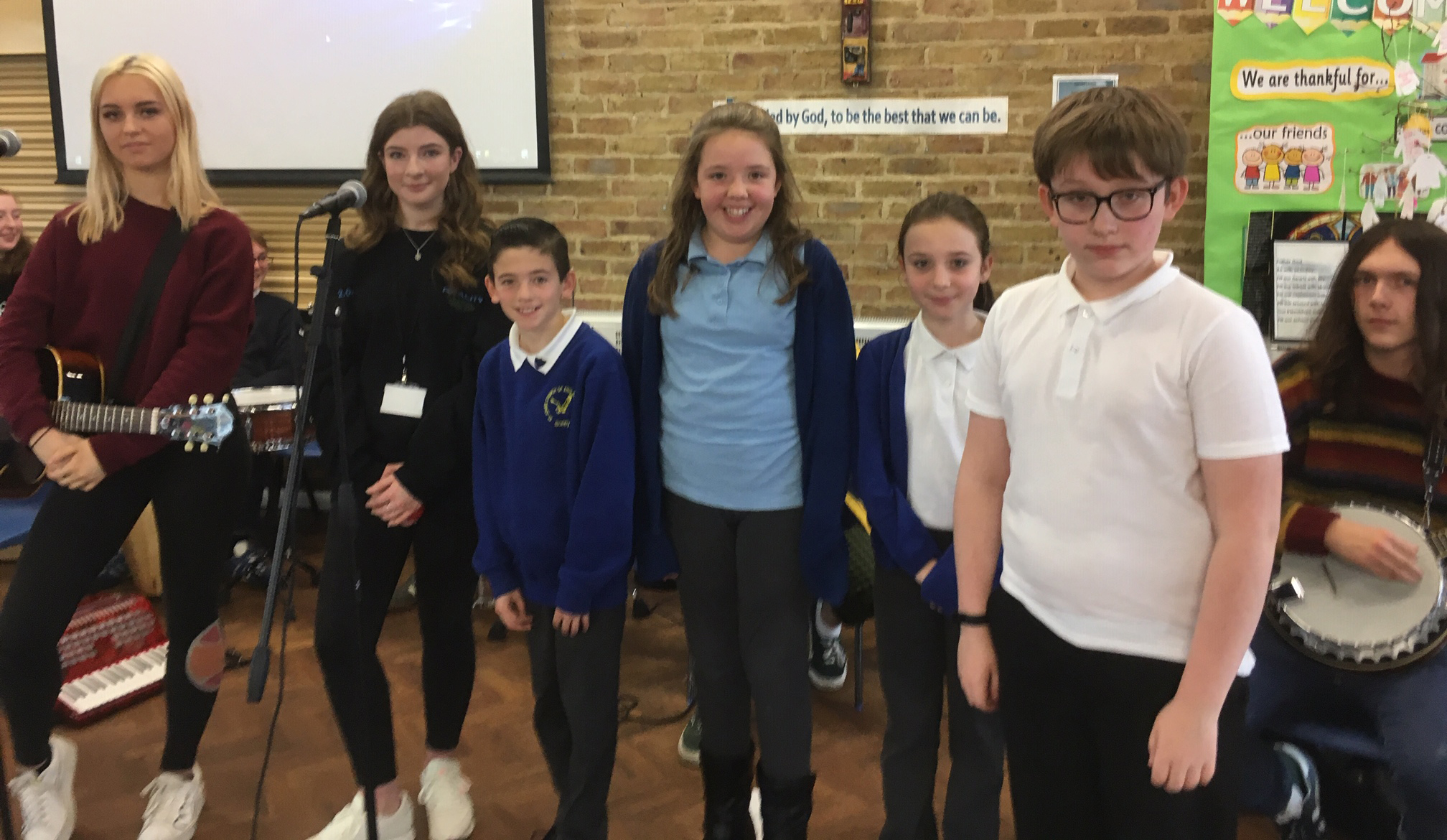 QE's popular music students deliver inspiring concert