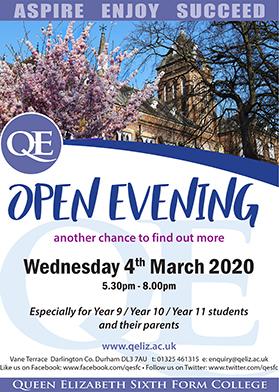 QE Open Evening