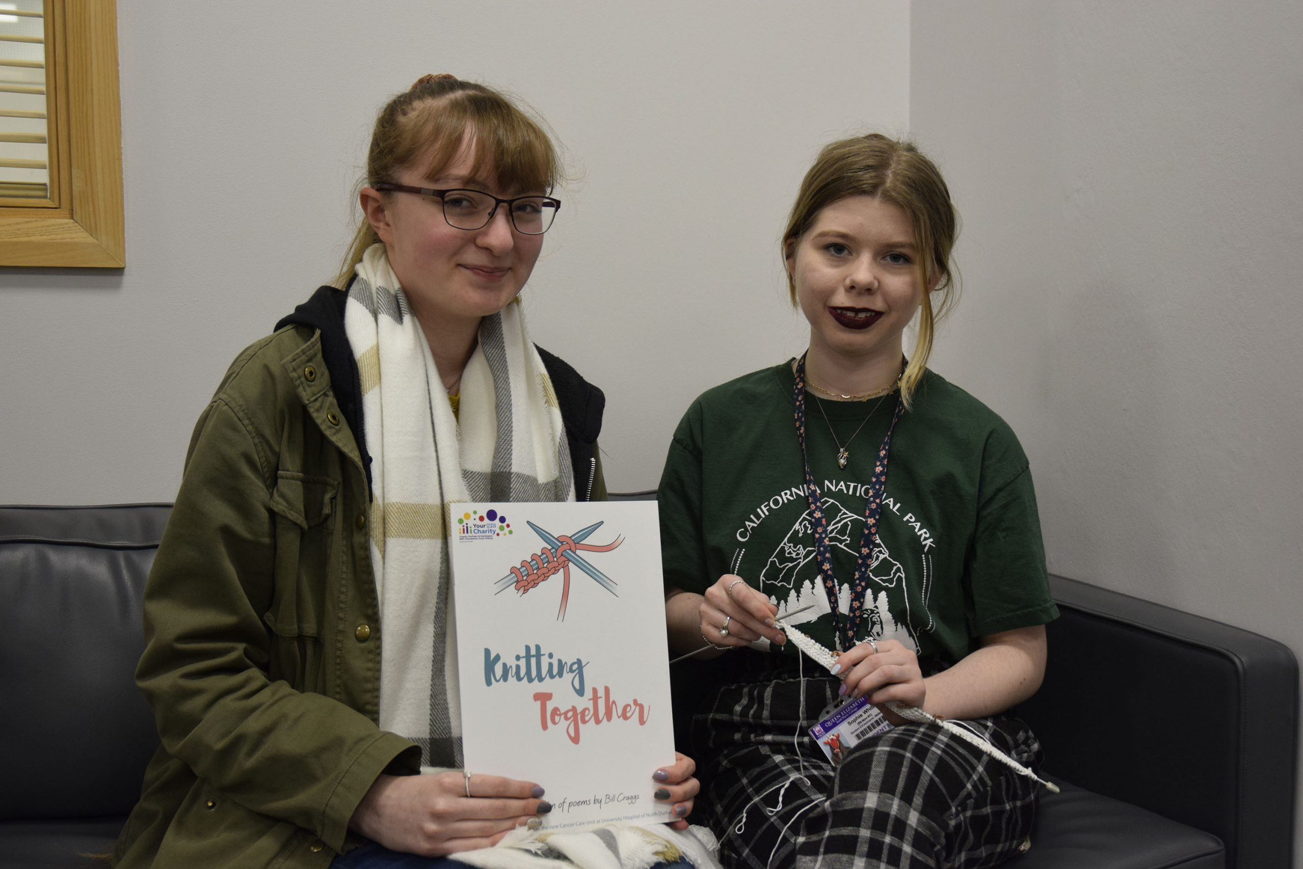 Interact Students Create Book of Cancer Patient's Poems