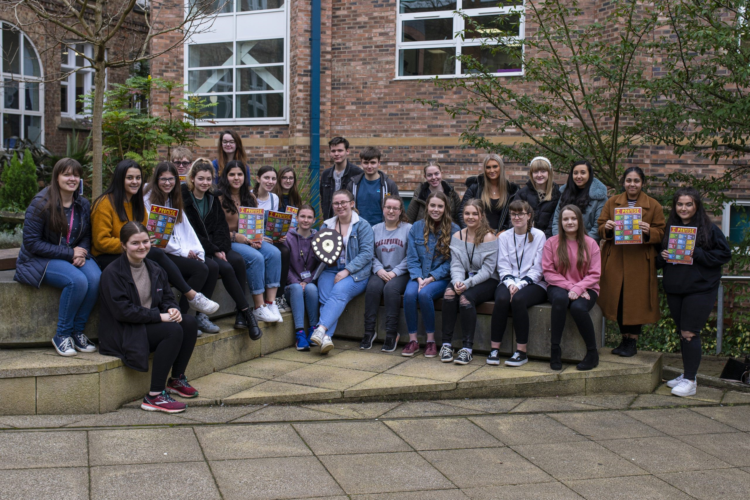 QE Students Show They Care