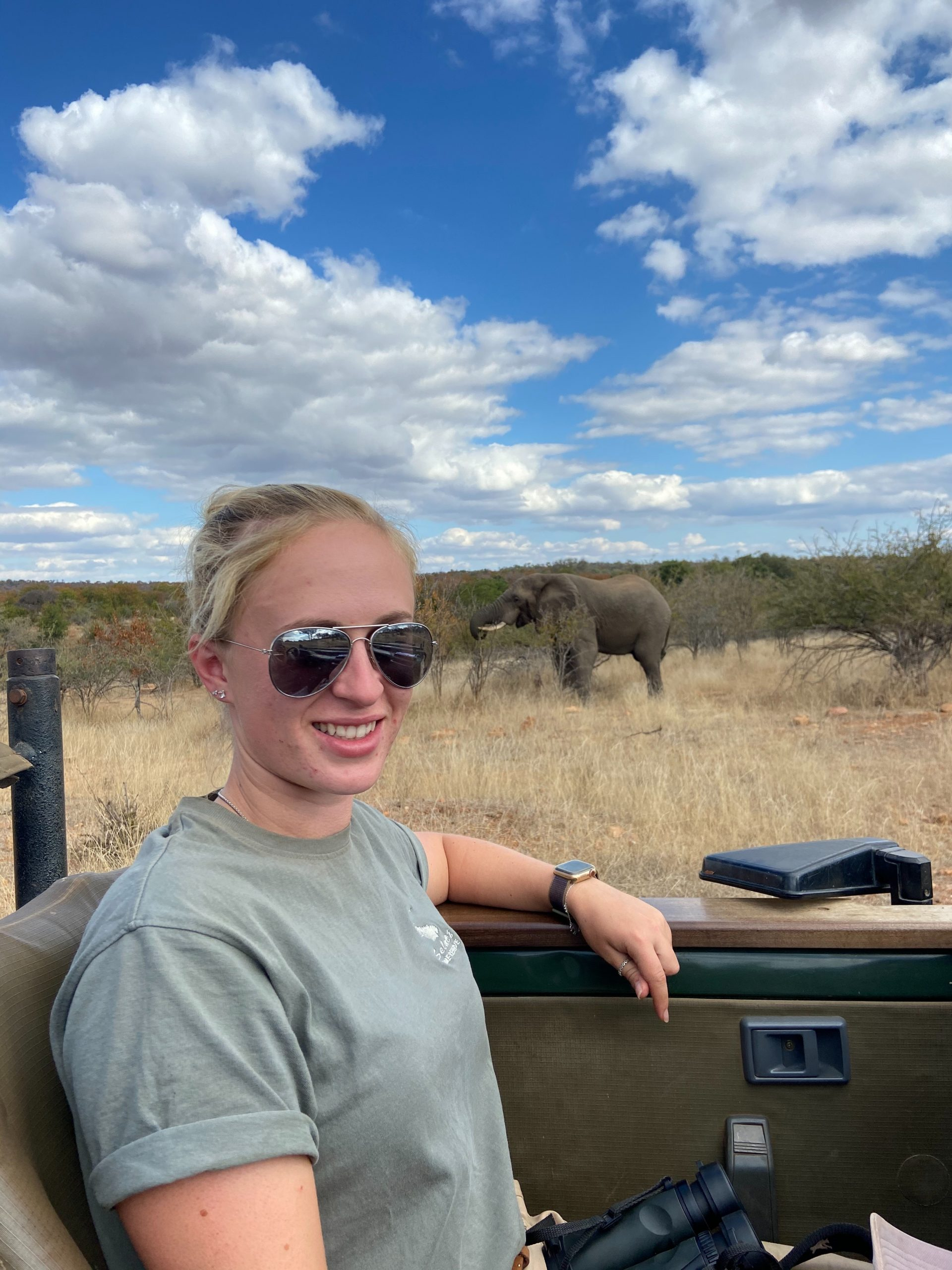 Former Student Experiences The Wild Side of Life