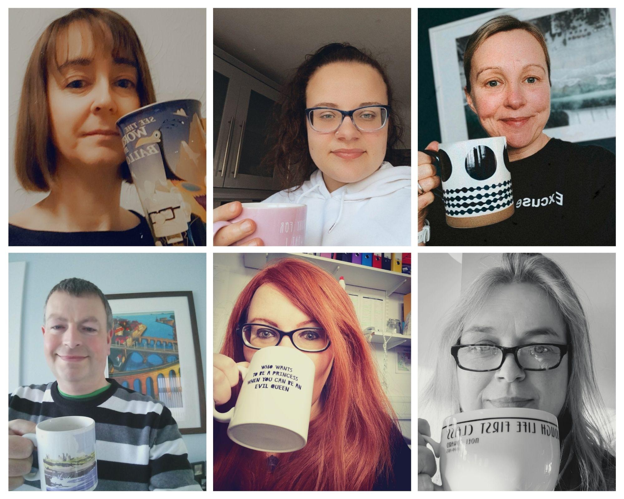 QE staff & students do Brew Monday