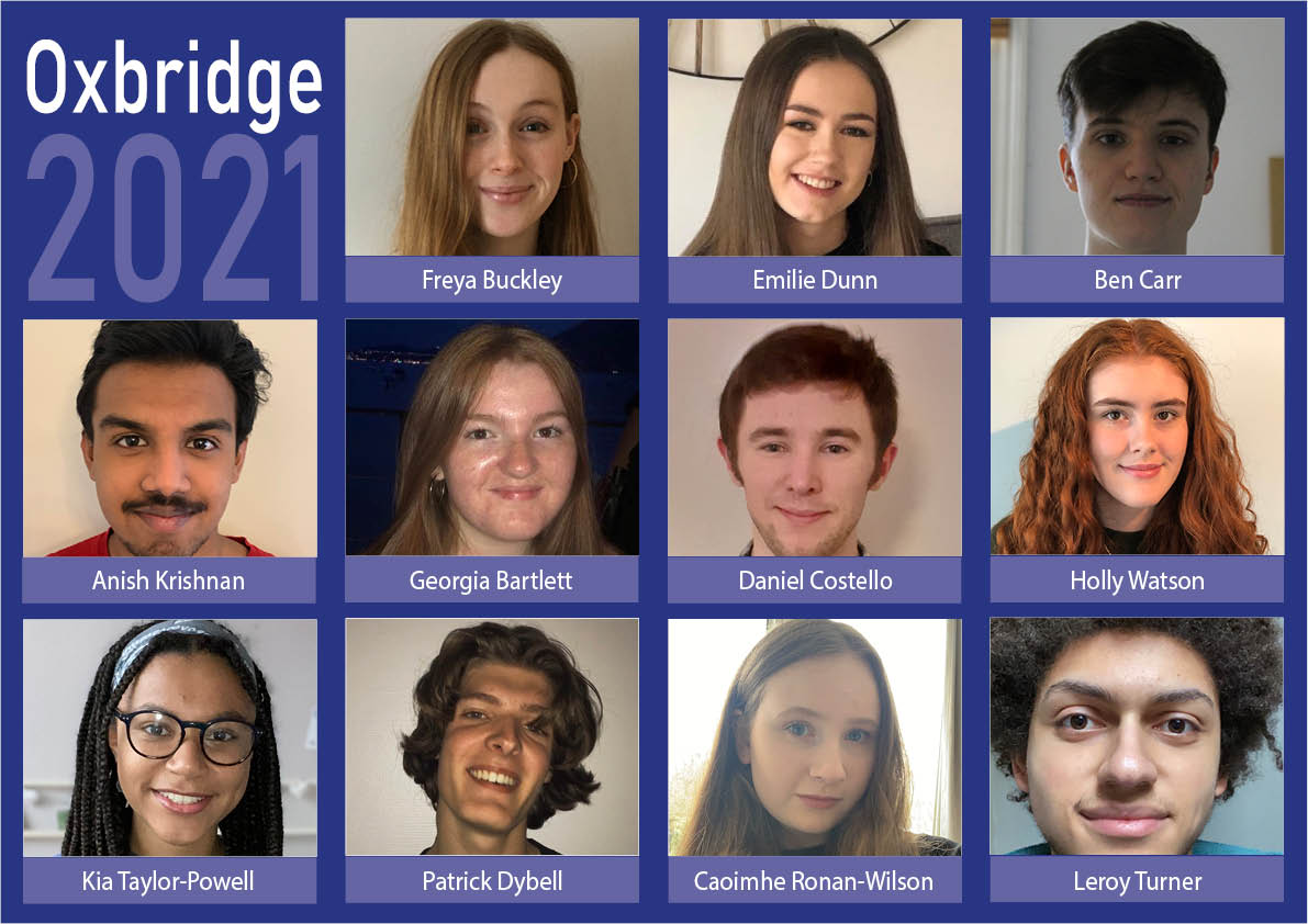Another Year of Stunning Oxbridge Success for QE