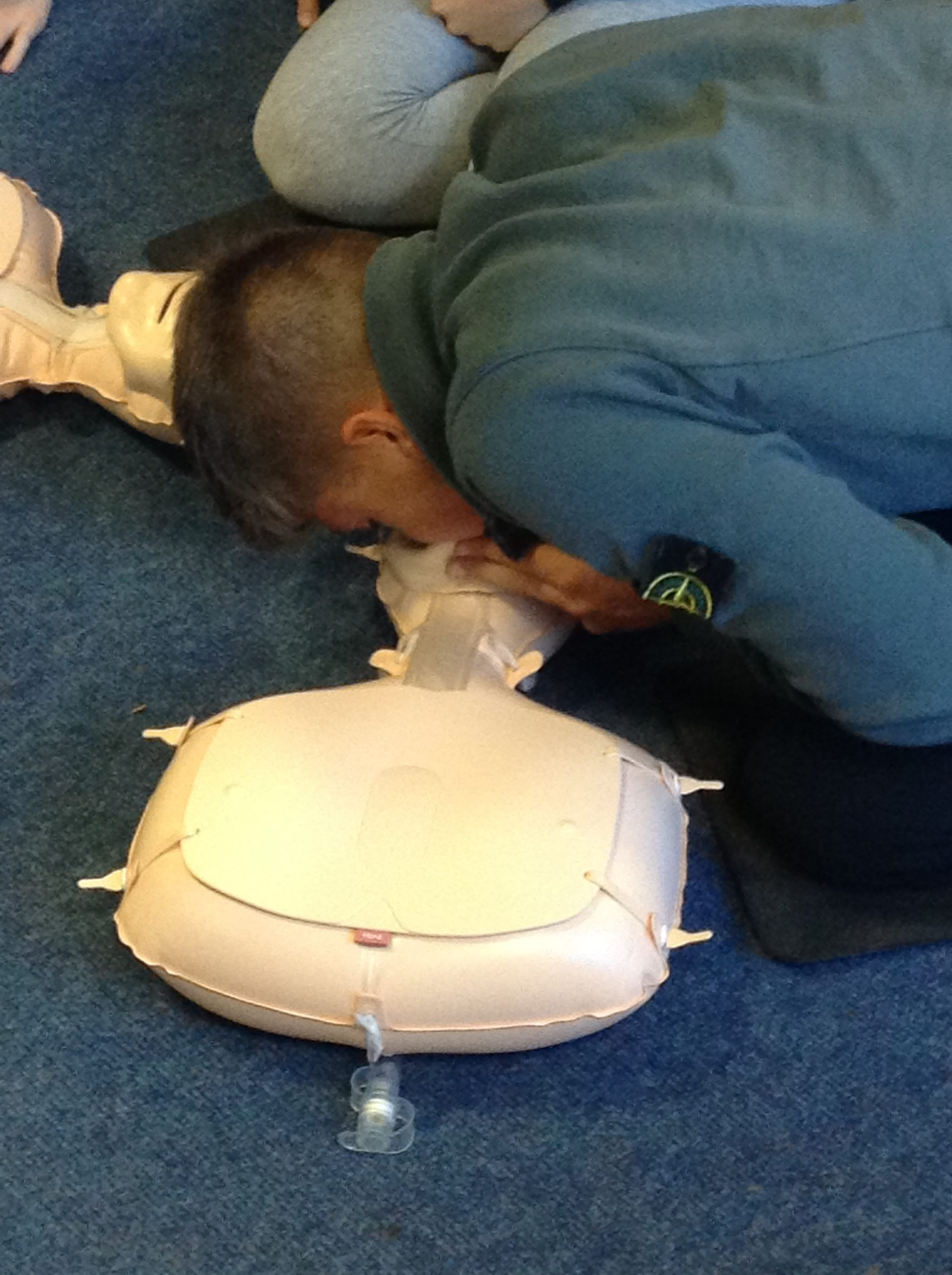 QE students make a difference with cardiac arrest training