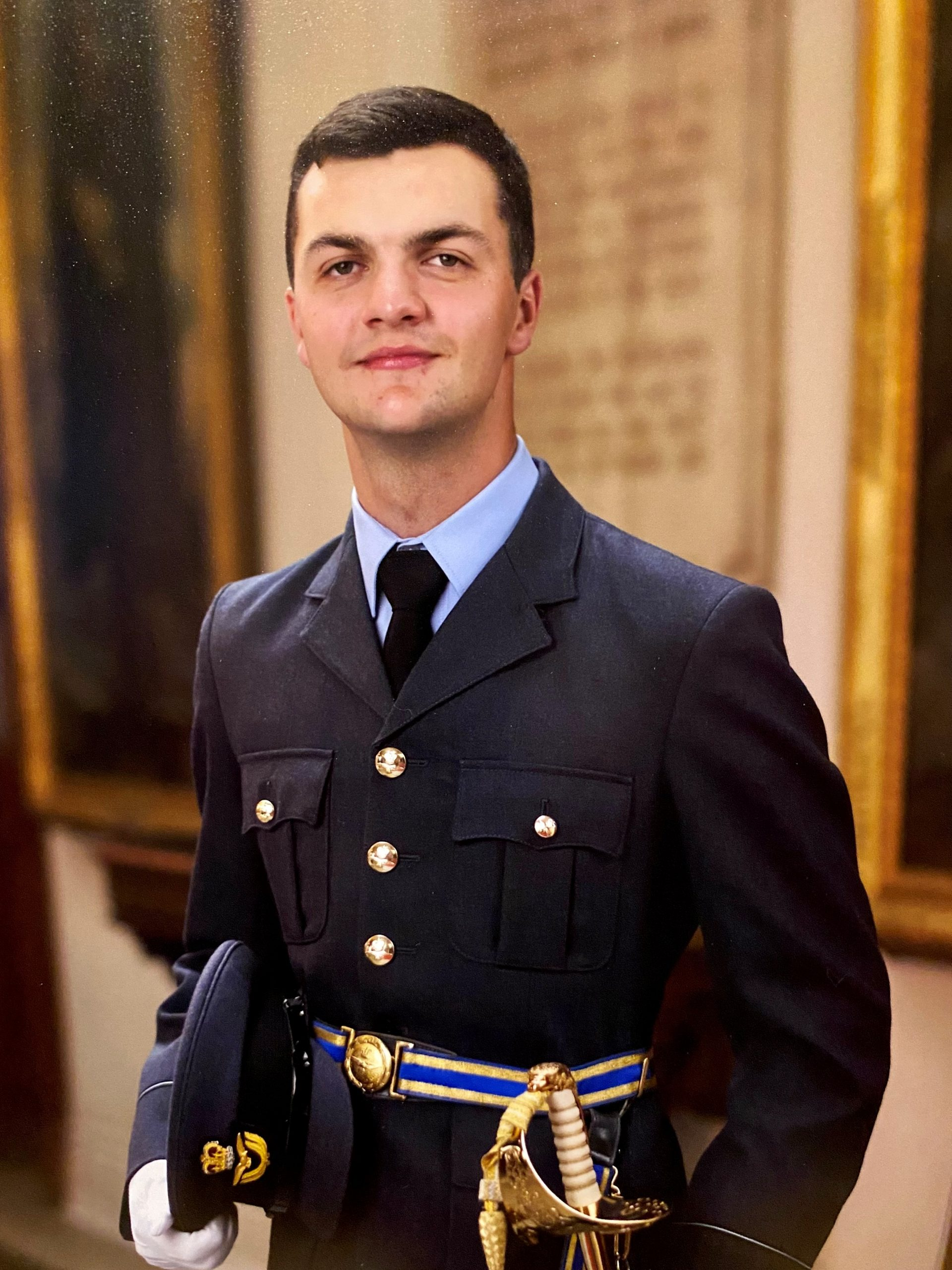 Ex student soars as RAF Officer
